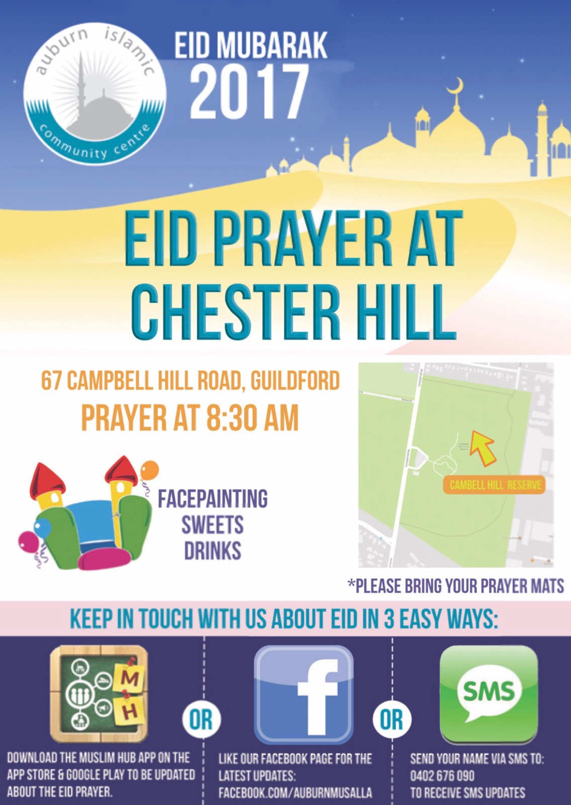 Eid At Campbell Hill